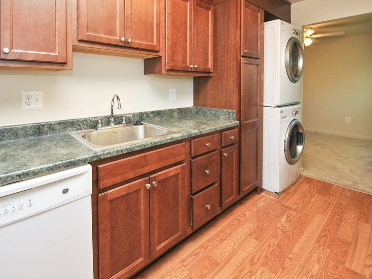 Upgraded Kitchen at Ridge Gardens Apartments, 8509 Old Harford Road, Parkville, MD, 21234