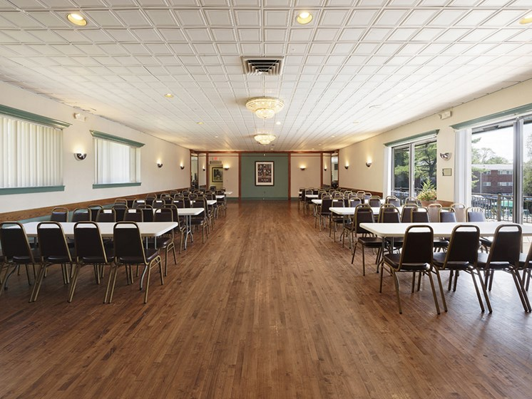 Huge Community Hall at Ridge Gardens Apartments, Parkville, MD, 21234