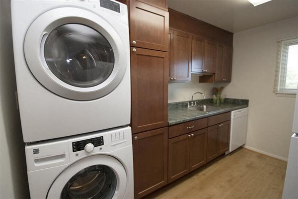 In-Home Washer and Dryer at Ridge Gardens Apartments, Parkville, MD