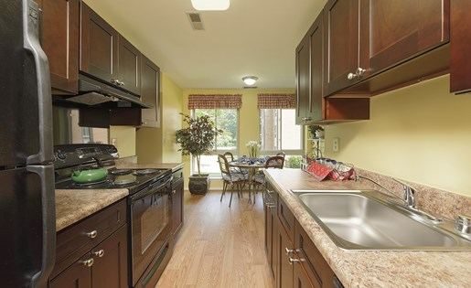 Kitchen at Westwinds Apartments, Annapolis, MD, 21403