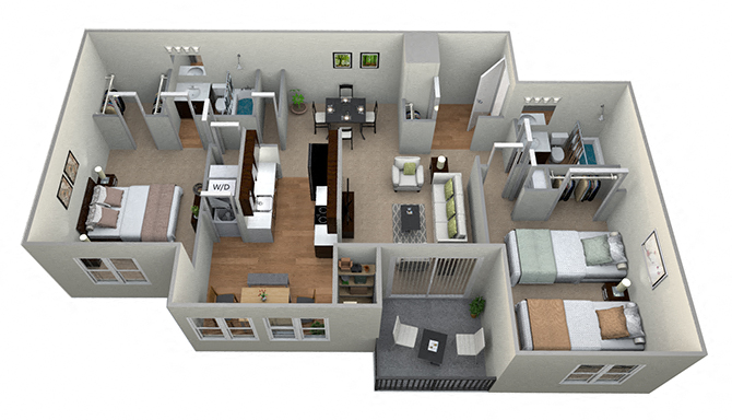 Westwinds Apartments In Annapolis Md Floor Plans