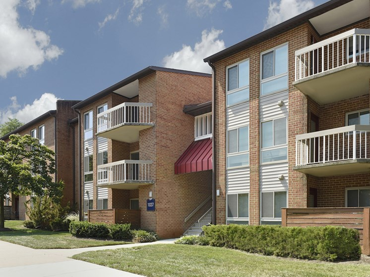 Renovated Building at Westwinds Apartments, Annapolis, MD, 21403