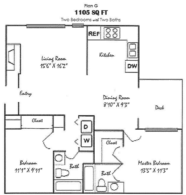 Plan G Floor Plan 7