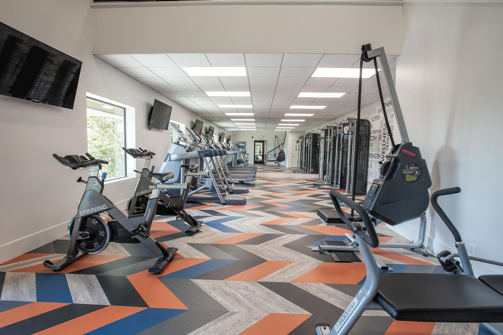 Apartments in Fairfield CA-Waterscape Apartments Fitness Center