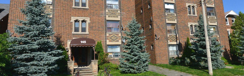 143-145 Arlington Avenue. Toronto. Akelius Rental Apartment