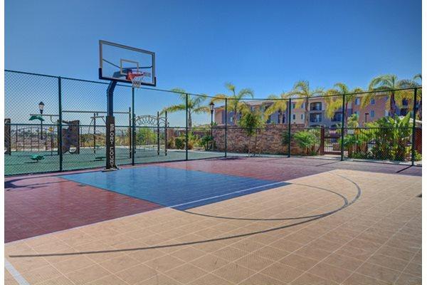 Open Basket Ball Court, at Greenfield Village, San Diego, 92154