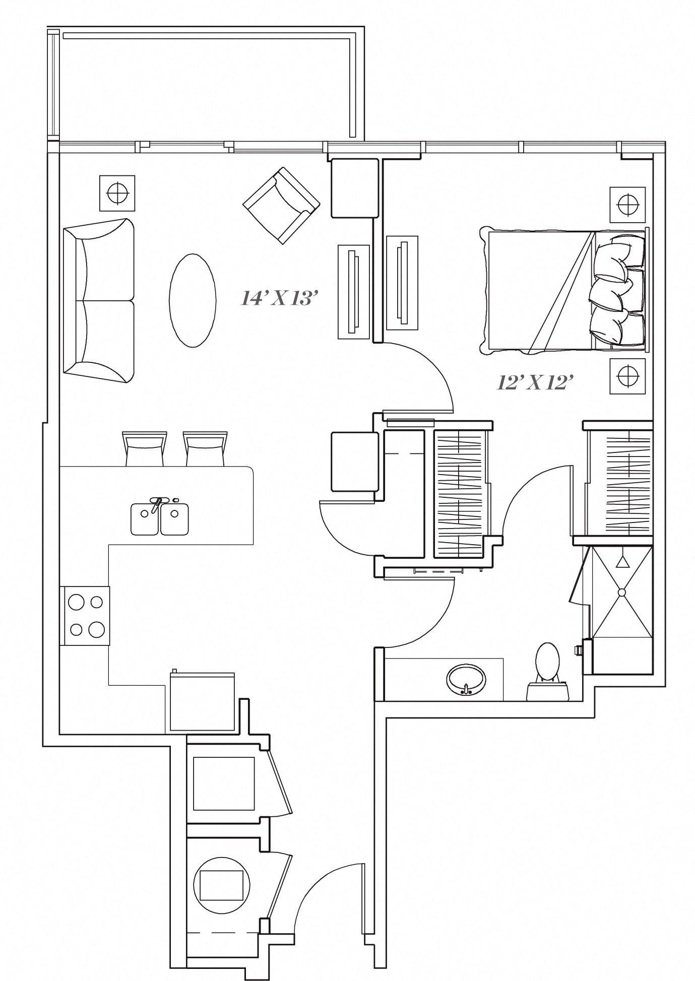 1A Floor Plan 2