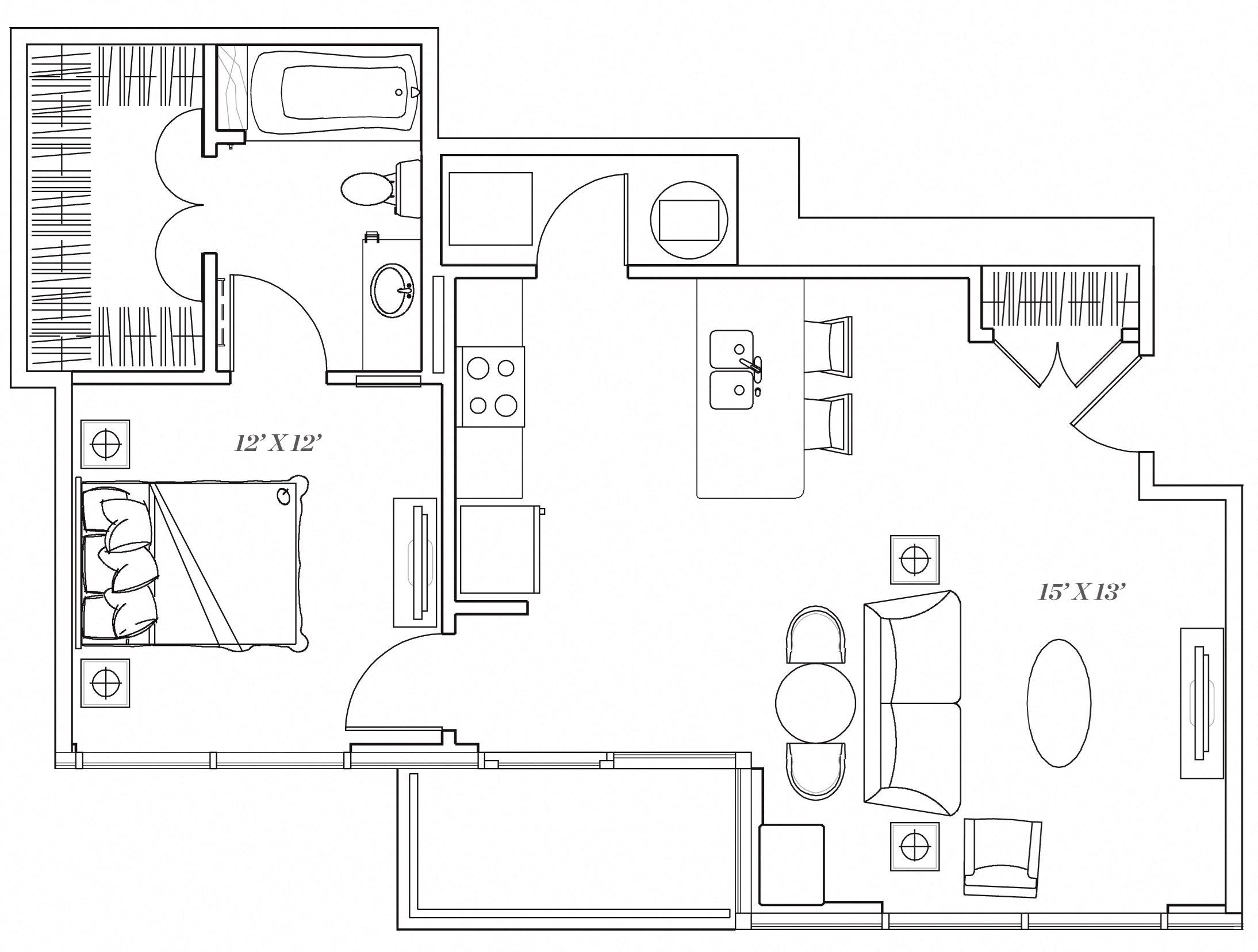 1E Floor Plan 6