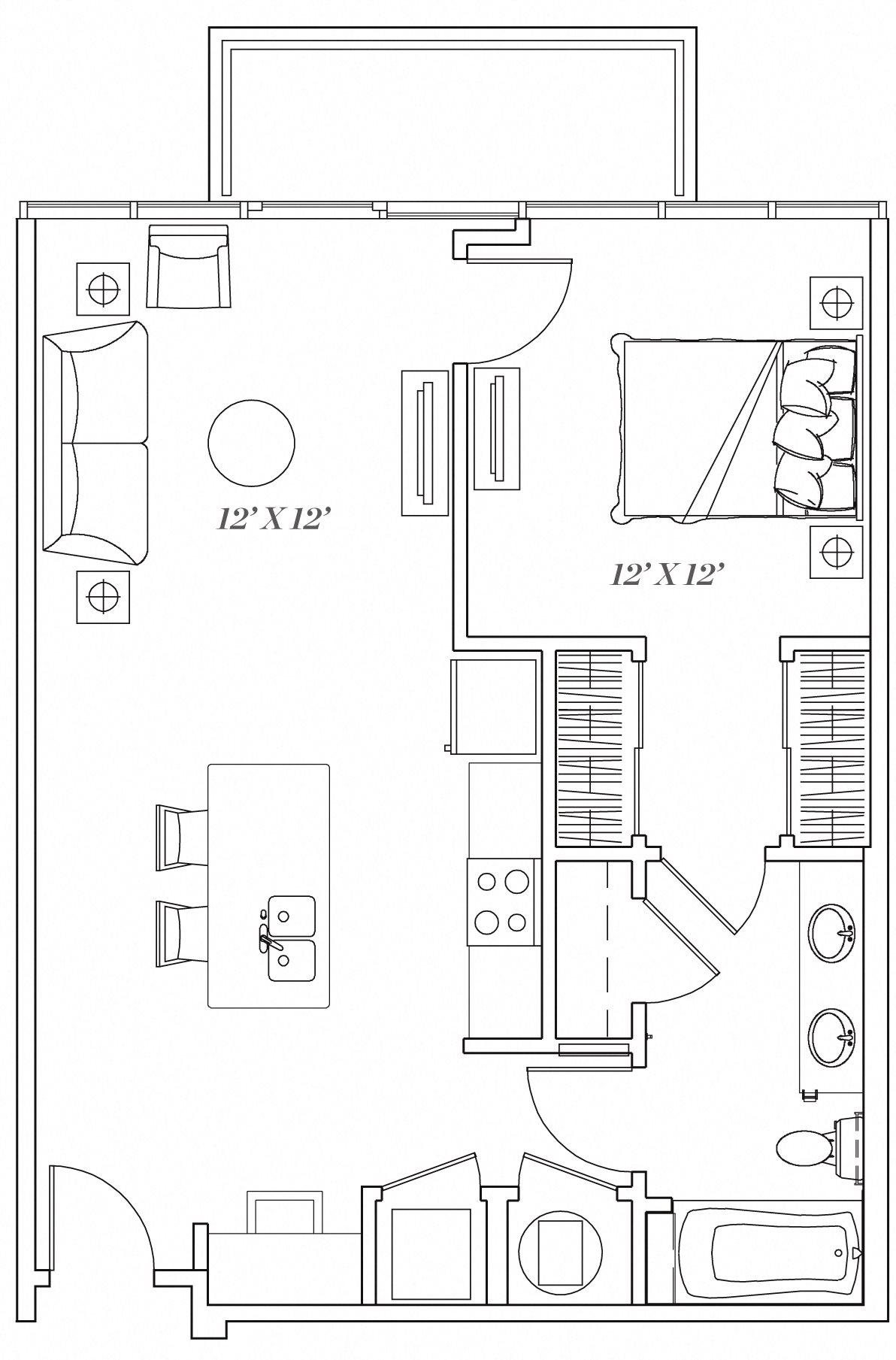 1F Floor Plan 7