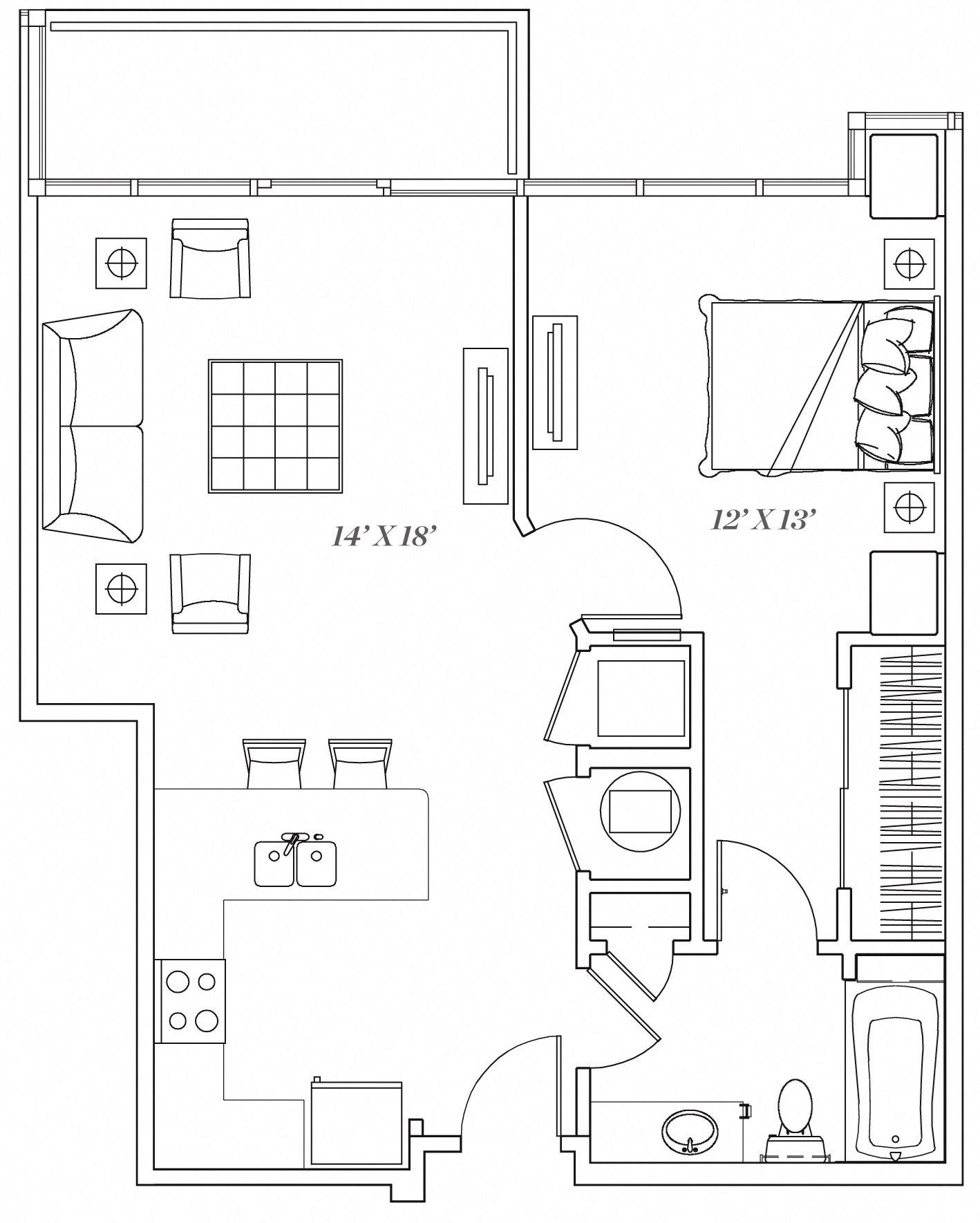 1G Floor Plan 8