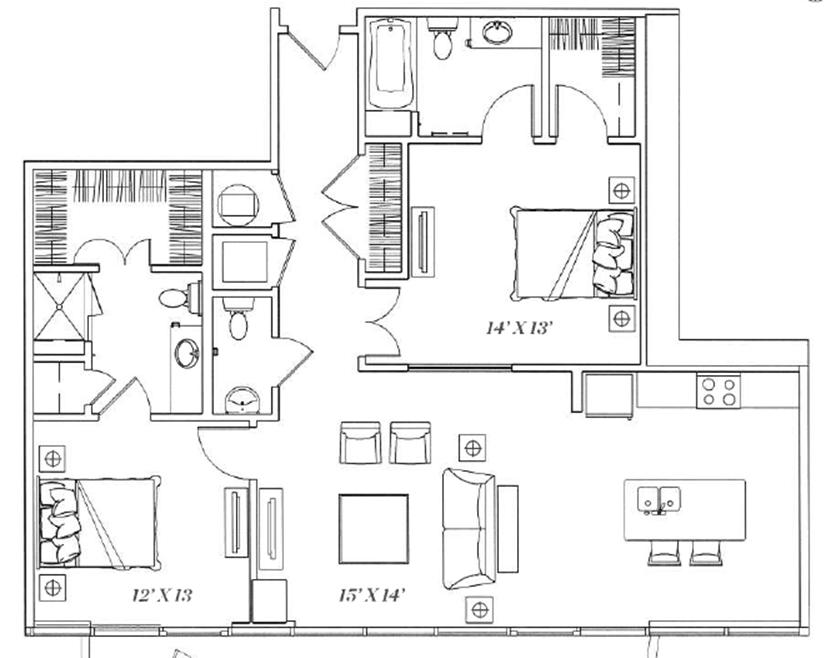 2E Floor Plan 12