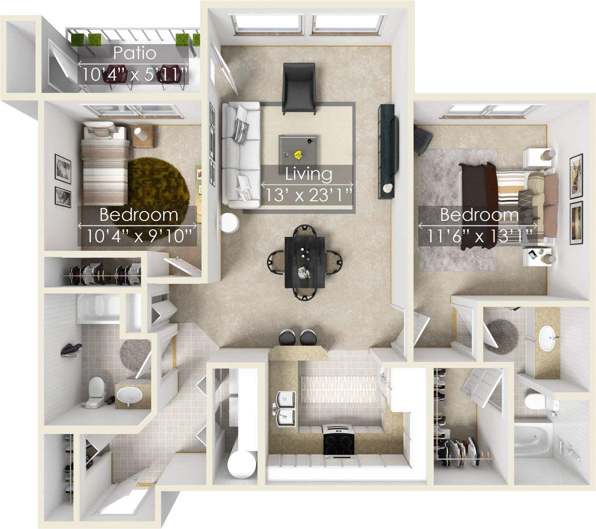 Cypress Floor Plan 3
