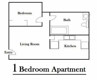 Superb 1 Bedroom Garden Good Ideas