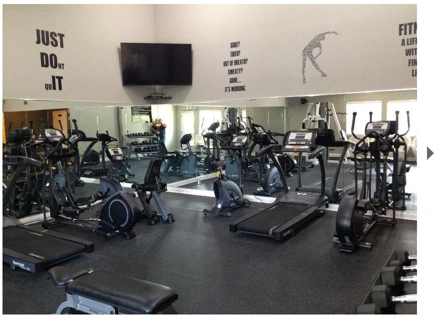 Fitness Center Access at Park West Apartments, California