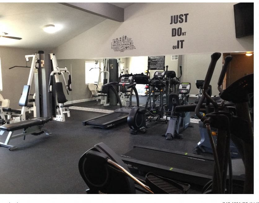 Fitness Club at Park West Apartments, California, 91710