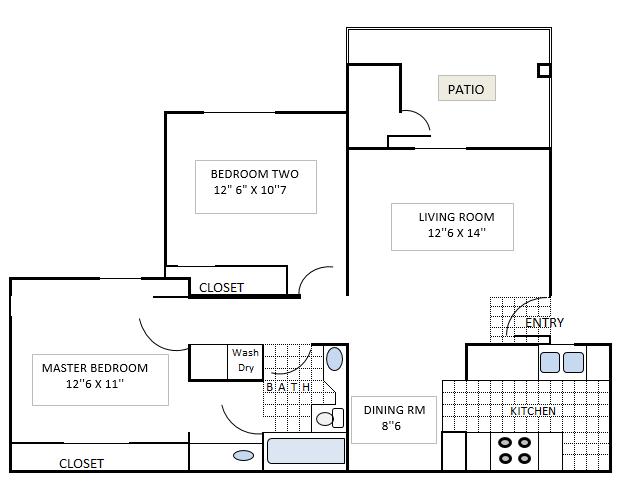 Roosevelt Floor Plan 1