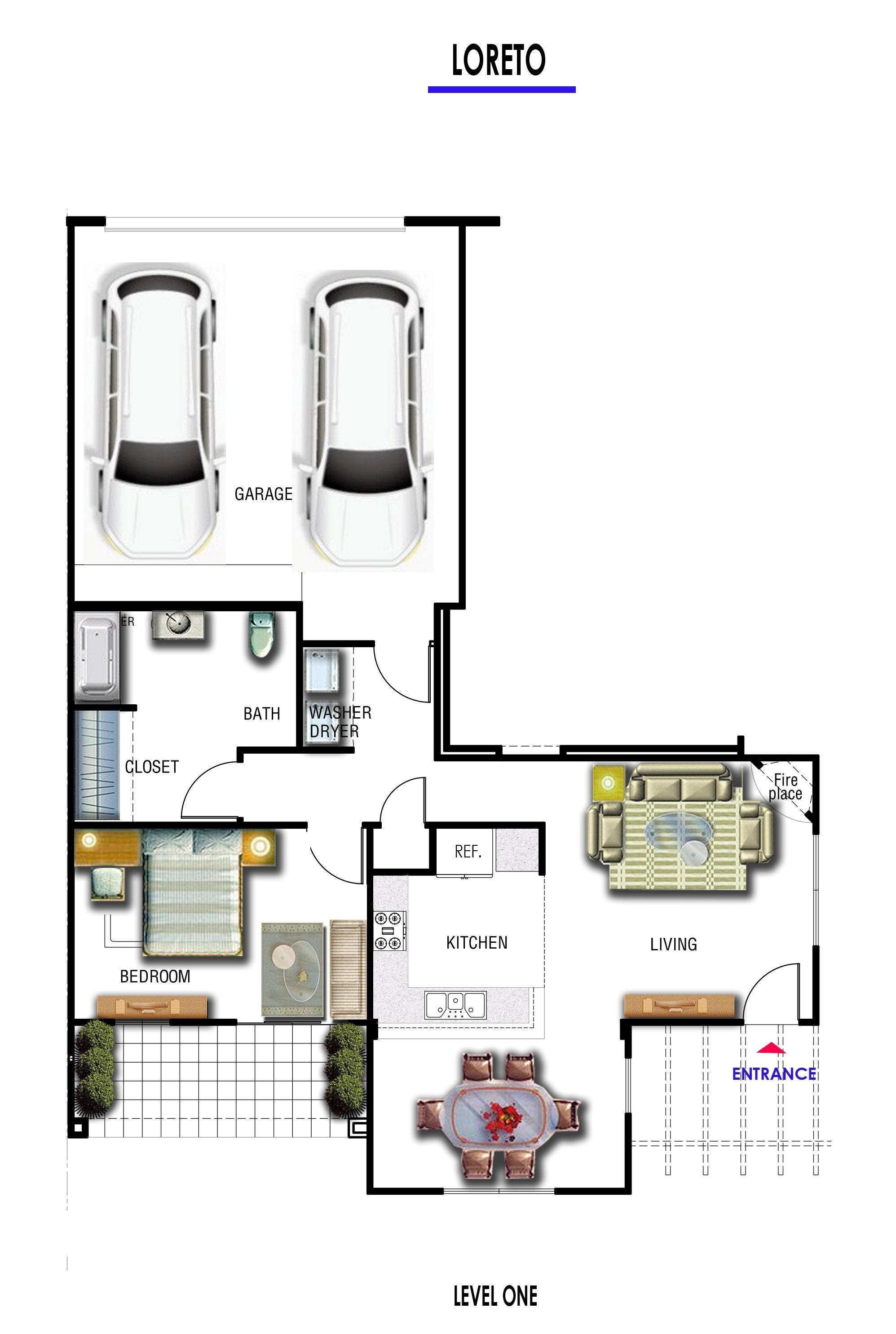 WIllow-apartments-1bedroom-1bath-floorplan