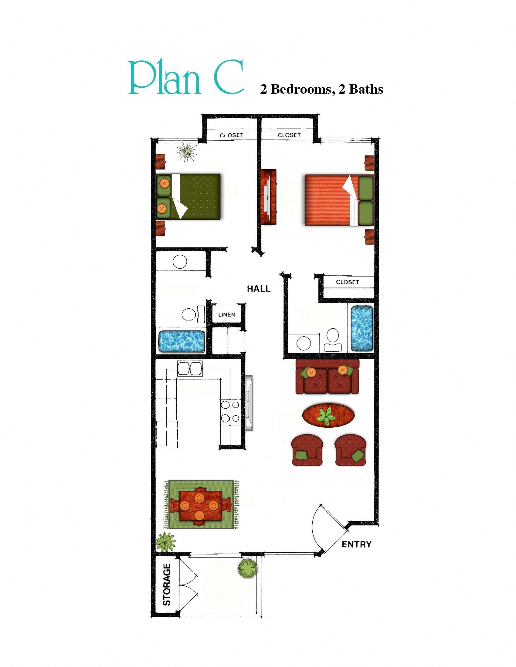 Plan C Floor Plan 2