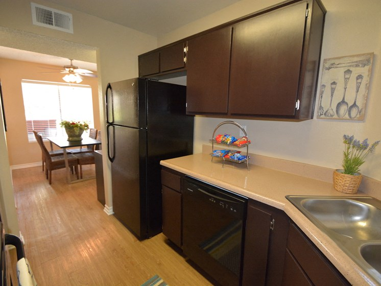 The Arches at Regional Center West Apartment Kitchen