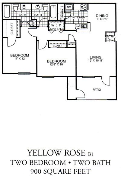 Yellow Rose Floor Plan 2