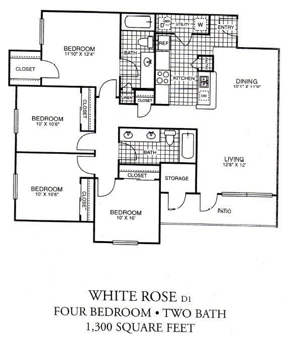 White Rose Floor Plan 1