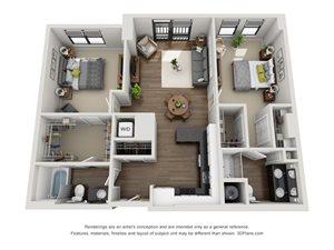 Aertson Midtown - Two Bedroom Apartment in Nashville, TN