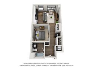 Aertson Midtown - Studio Apartment in Nashville, TN
