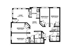 4 Bedroom Medium