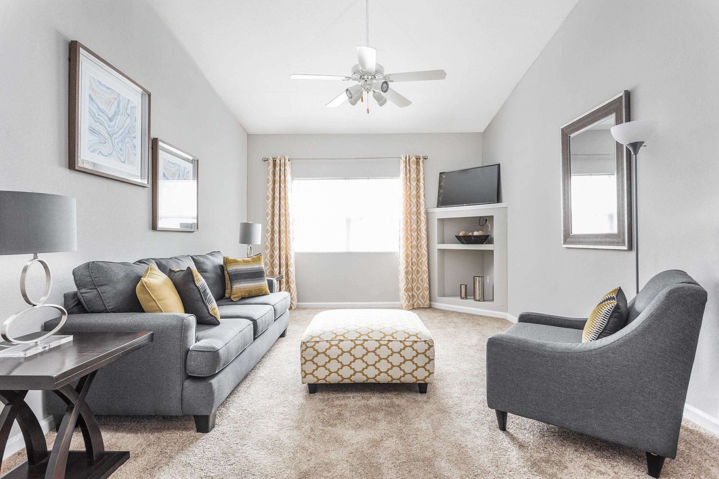 Spacious Living Room - Lenoxplace Apartments