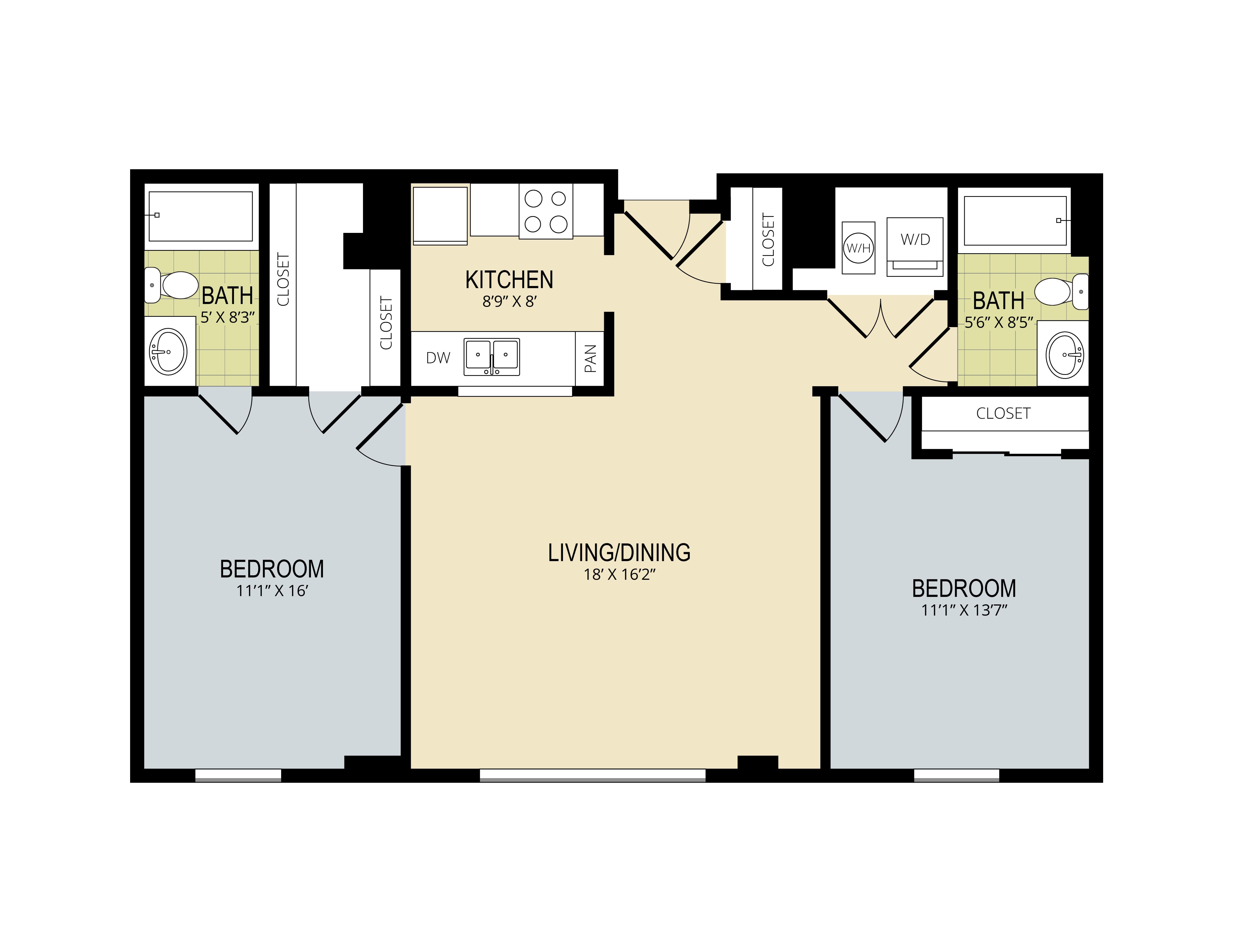 The Evergreen Floor Plan 5