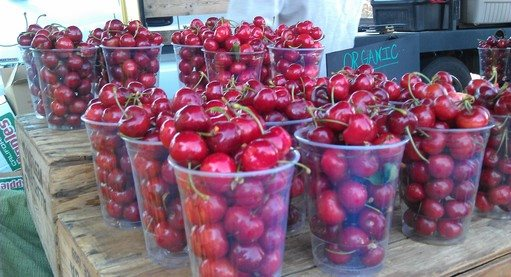 Farmers' Market Cherries