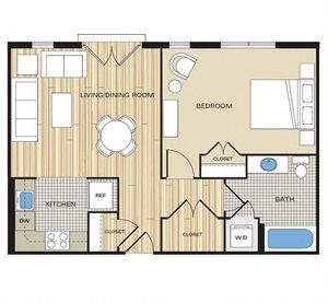 1 bedroom apartment alexandria va