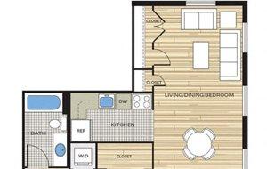 studio apartments in alexandria va