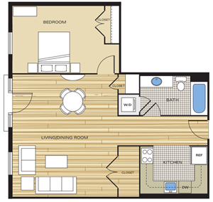 one bedroom apartments in alexandria