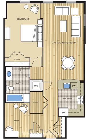 1 bedroom apartments alexandria va