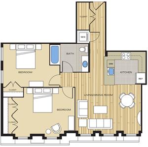 2 bedroom apartments in alexandria va