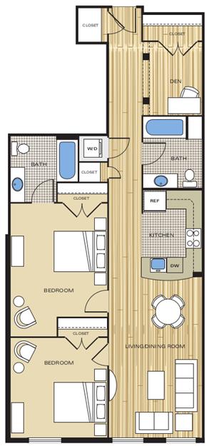 2 bedroom apartments alexandria va