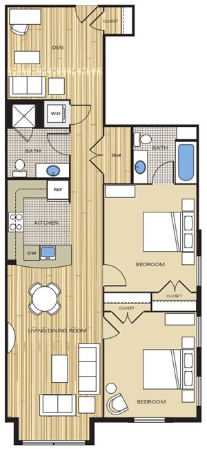 2 bedroom apartments for rent alexandria va