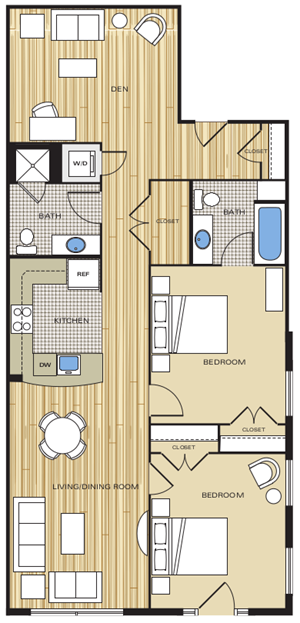 2 bedroom apartments for rent in alexandria va