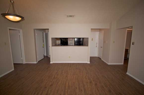 Newly remodeled interiors at Bowmans Walk Apartments