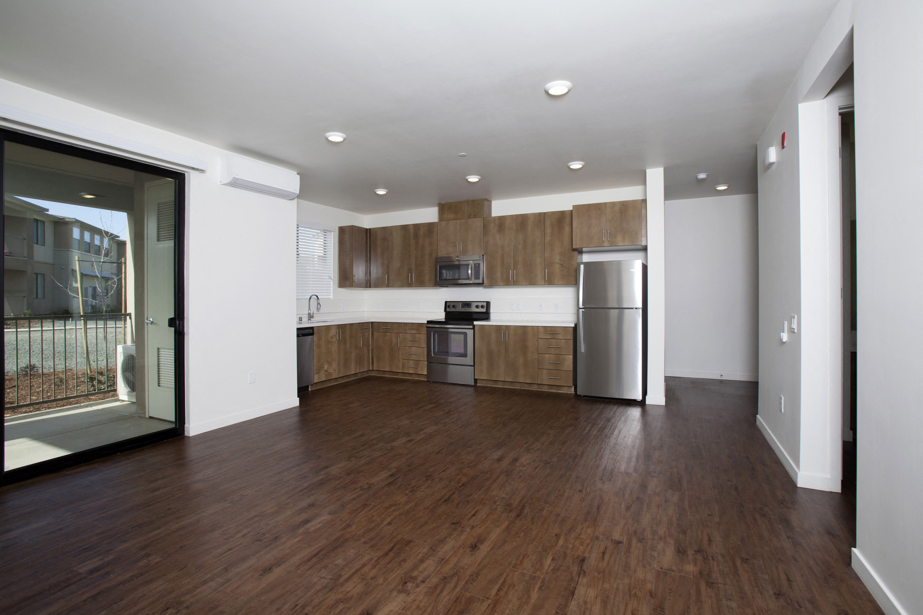 Park Square at Seven Oaks Unit Type B - Two Bedroom Kitchen Bakersfield CA Apartments