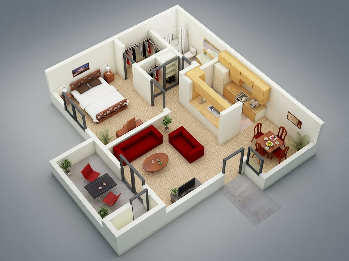 The Refuge Floor Plan 1