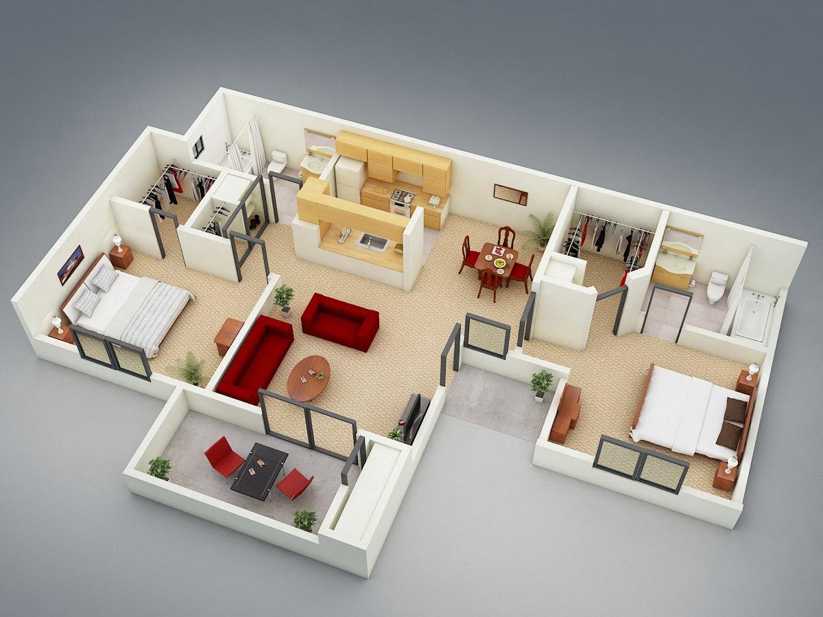 The Resort Floor Plan 3