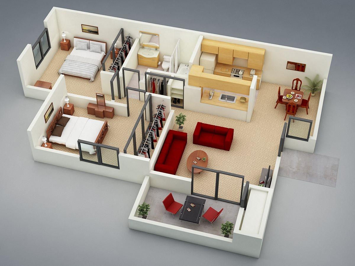 The Retreat Floor Plan 2