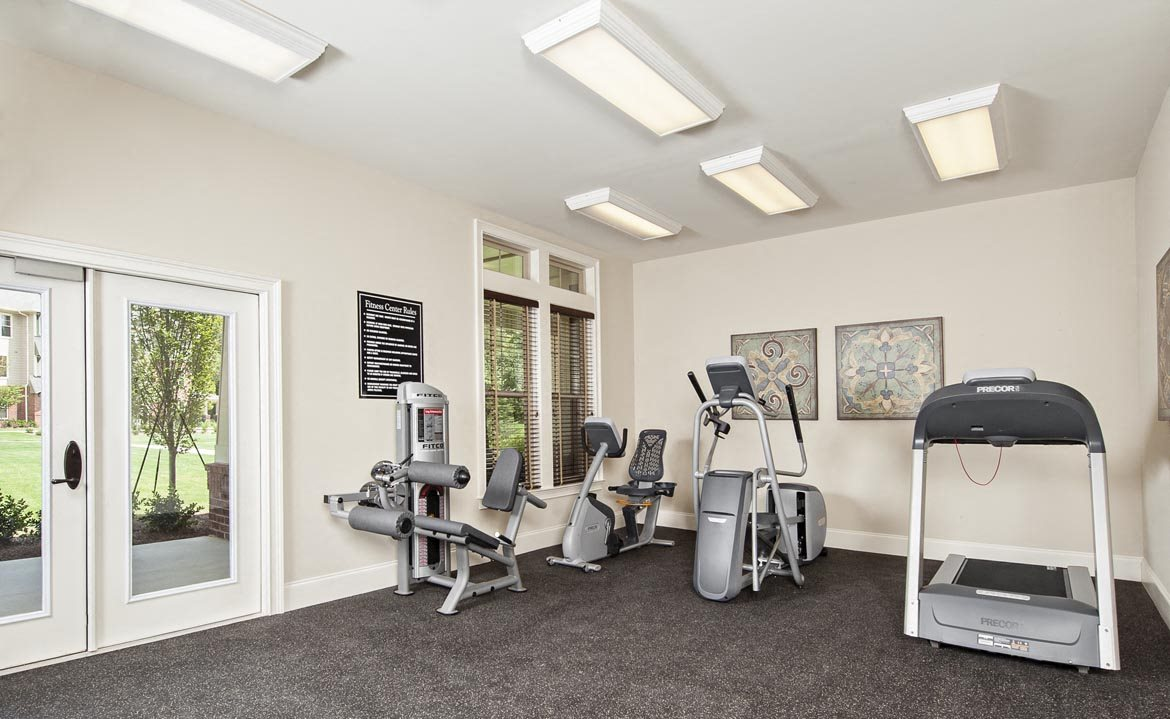 Fully Equipped Fitness Center at Walton Oaks, Augusta, GA