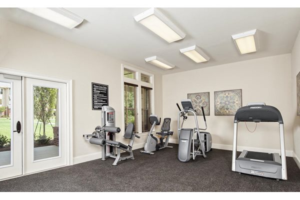 Fully Equipped Fitness Center at Walton Oaks, Augusta, GA