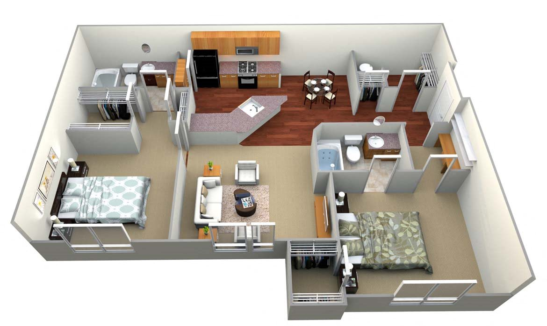 Floor plan at Walton Oaks, Augusta, GA