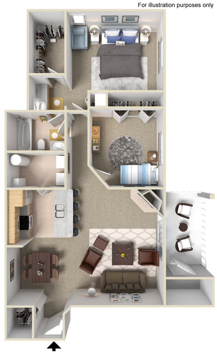 Browne II Floor Plan 3