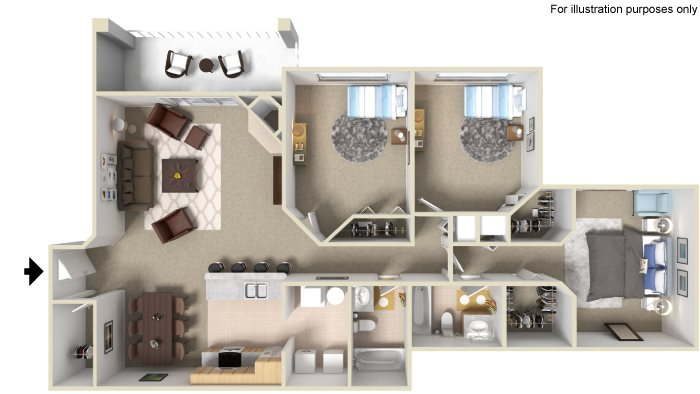 Drake II Floor Plan 6
