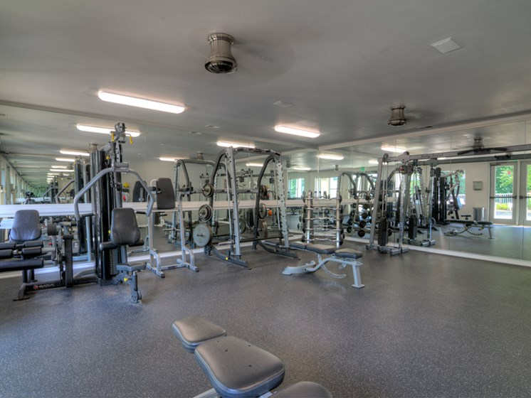 24 Hour Fitness Center at Drakes Pond Apartments in Kalamazoo MI